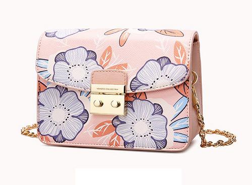 Túi hộp mini Venuco Madrid B155 màu hồng