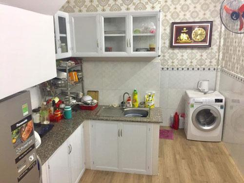 Dù không có nhiều tiền để làm một căn bếp khang trang, nhưng căn bếp hiện tại đủ để vợ chồng tôi nấu những bữa cơm ngon cho gia đình cùng thưởng thức.