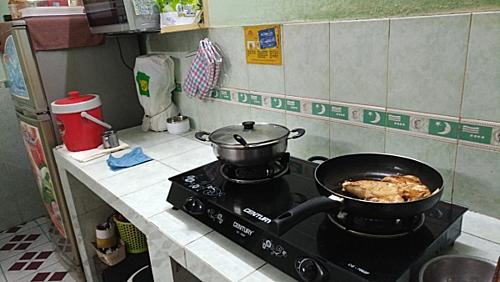 Gian bếp yêu thương của gia đình tôi.