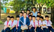 Ông bố Nhật xây trường cho trẻ Việt theo di nguyện của con gái