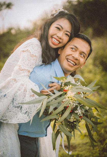 Ted và Thảo tổ chức đám cưới ở Đồng Nai đầu tháng 6 vừa qua, sau nửa năm kết hôn ở Australia. Ảnh: Phạm Minh Tài.