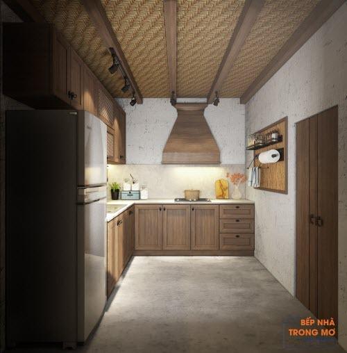 Căn bếp phong cách vintage cho ngoại - 4