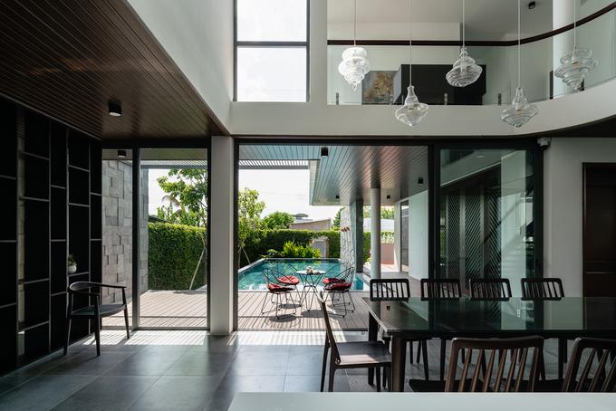 Ngôi nhà như resort ẩn sau bức tường kín đáo ở Tiền Giang