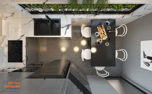 Một căn bếp mới thoáng đãng, tiện nghi - 9