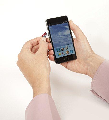 Thẻ Sandisk 128GB micro SD mang đến tốc độ lưu trữ dữ liệu nhanh chóng đến 100MB/s.