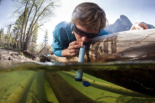 Ông Life Straw cầm tay có thể lọc đến 1.000 lít nước.