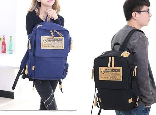 Balo unisex hàn quốcPraza - Bl007giá ưu đãi còn 149.000 đồng, thiết kế thời trang theo phong cách Hàn Quốc, phù hợp cho bạn trẻ.