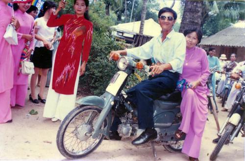 Ba mẹ tôi khi còn trẻ.