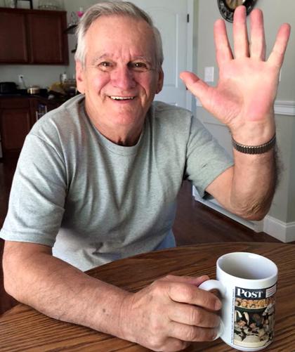 Ông Joe Jobi theo nghiệp cha làm nghề xây dựng sau khi rời khỏi Việt Nam. Hiện ông đã nghỉ hưu. Ảnh: NVCC.