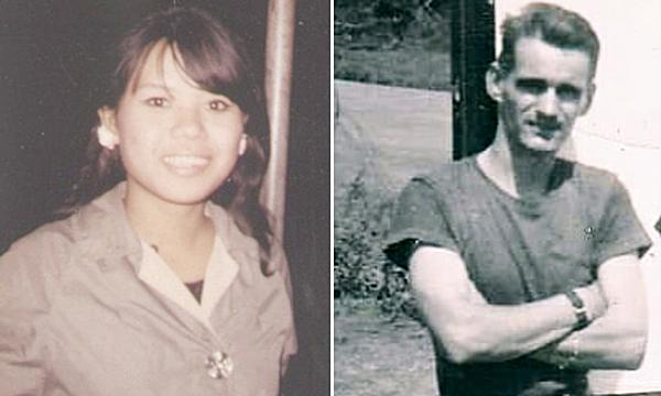 Bức hình bà Chu Kim Dung thời trẻ vẫn được ông Joe (trái) giữ tới nay.