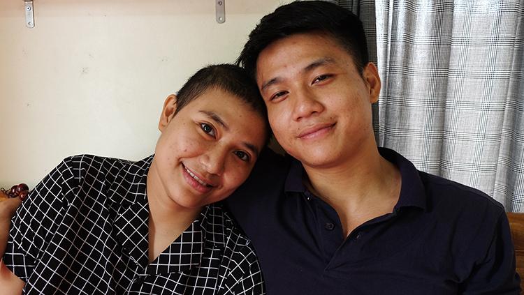 Hải Anh sau hơn 2 năm điều trị ung thư, cô luôn truyền năng lực tích cực cho mọi người bởi niềm tin yêu vào cuộc sống. Ảnh: H.H