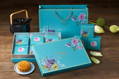 Bánh Trung Thu Richy – Thiên An với vẻ đẹp nền nã, trang nhã.
