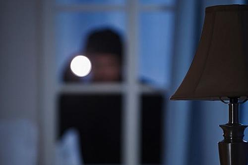 Chiếc đèn hẹn giờ có thể tạo ảo giác có người ở nhà. Ảnh: Mirror.