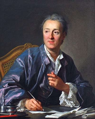 Tên của triết gia Diderot được lấy để đặt tên cho hiệu ứng mua sắm. Tranh: Louis-Michel van Loo.