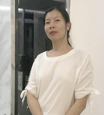 Nguyễn Thị Phượng sống ở trung tâm dành cho trẻ mồ côi từ năm 12 tuổi - 18 tuổi, vì không có bố mẹ bên cạnh. Ảnh: N.Phượng.