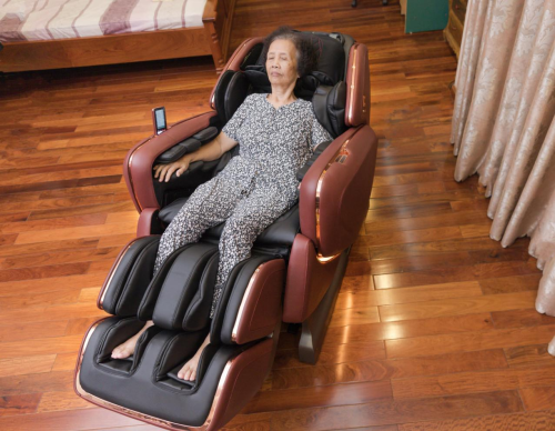Sản phẩm tích hợp nhiều chương trình massage tự động khác nhau.