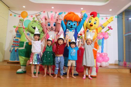 Khu vui chơi được thiết kế phù hợp sở thích, nhu cầu của các bé.
