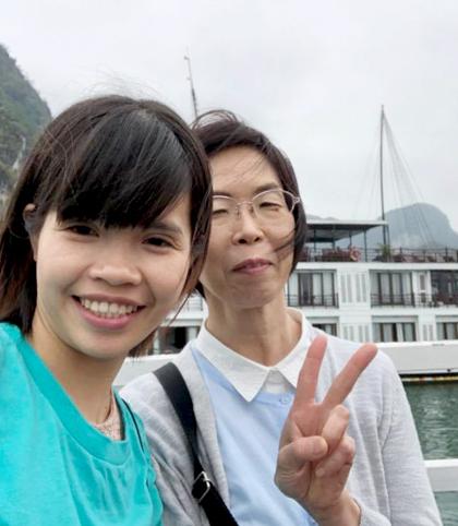 Hồi mới sống chung, mẹ chồng Nhật, nhiều lúc đau đầu vì nàng dâu kén ăn. Ảnh: M.T.