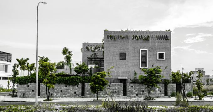 Nhà Đà Nẵng như 'tứ hợp viện'