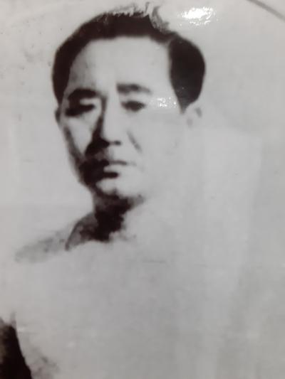 Bức anh ông Sato Masao gửi về cho vợ con trong giai đoạn 1950 -1952. Ảnh: Gia đình cung cấp.
