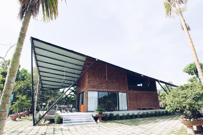 Ngôi nhà như cánh diều giữa vườn cây Đà Nẵng
