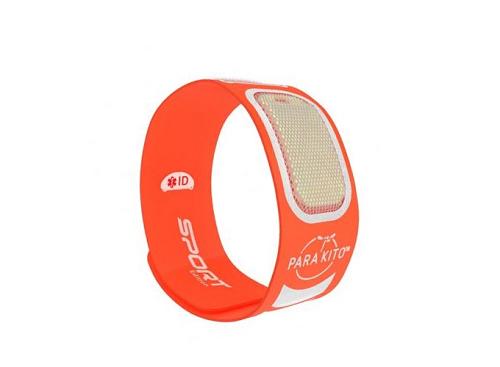 Viên chống muỗi PARA'KITO kèm vòng đeo tay thể thao cá tính màu cam (2 viên)