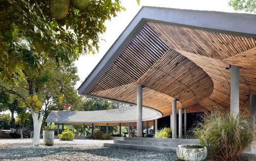 Công trình Jackfruit Village (Làng Mít) làng Trầm Lăng, xã Đồng Đông, thị xã Sơn Tây.
