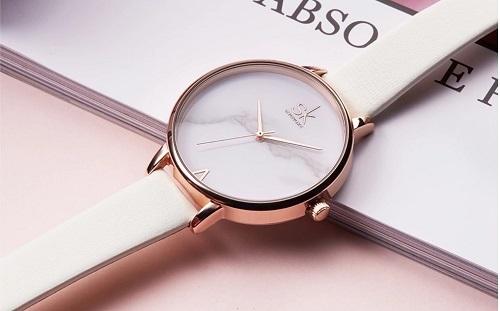 Đồng hồ nữ chính hãng thương hiệu Shengke Korea giảm nửa giá nhân dịp 20/10 trên Shop VnExpress.