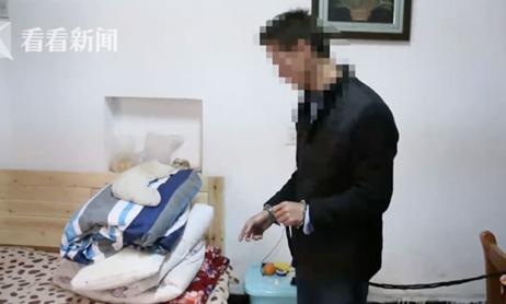Tên kẻ trộm kể lại việc anh ta cố tình vào nhà chị Wang lúc chị đi làm về để bị bắt gặp. Ảnh: Wenxuecity.