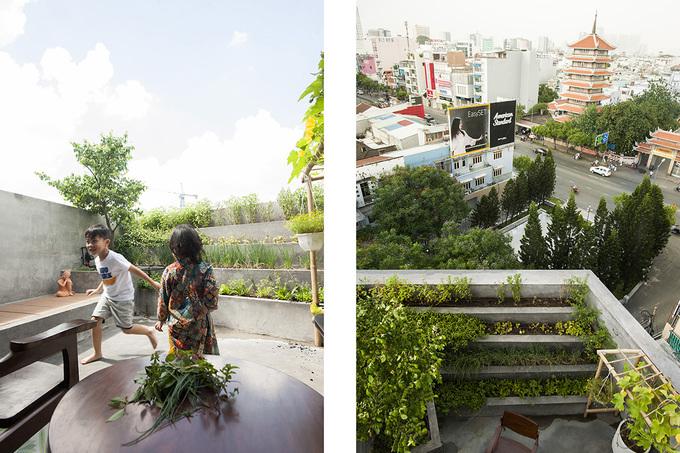 Nhà Sài Gòn lên mỗi tầng như đi du lịch nước khác