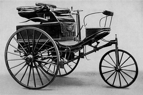Mẫu xe hơi được Bertha sử dụng trong chuyến đi lịch sử. Ảnh: Wikipedia.