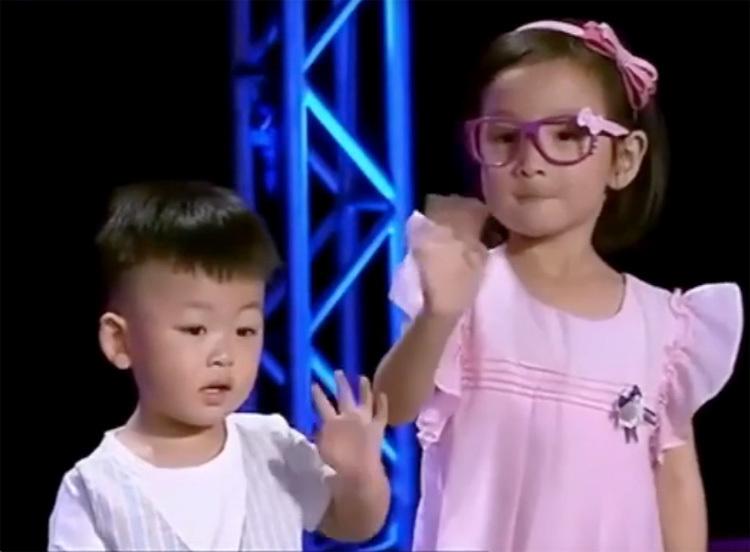 Hai con của Sha Gu và Ba Shuai.