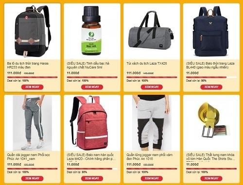 Nhiều sản phẩm đồng giá trên Shop VnExpress.