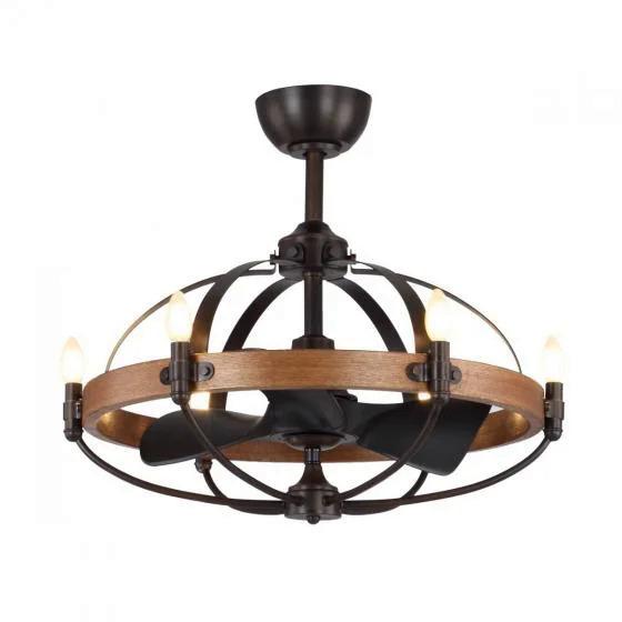 Quạt trần đèn chùm Royal Monalisa