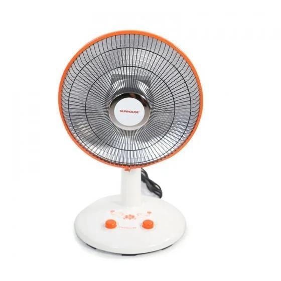 Quạt sưởi của thương hiệu Sunhouse sử dụng đèn halogen có độ bền cao, tiết kiệm điện, an toàn với sức khỏe, tăng nhiệt nhanh chóng. Thiết kế nhỏ gọn, chỉ nặng 3,6 kg, thích hợp đặt ở phòng ngủ, phòng khách... Nút xoay điều chỉnh nhiệt độ tiện lợi, dễ sử dụng. Sản phẩm có giá 1,374 triệu đồng, giảm giá độc quyền trên Shop VnExpress 50% còn 687.000 đồng.