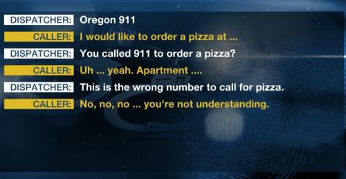 Cuộc gọi của con gái bà Simon đến cảnh sát 911. Ảnh: 123abc.