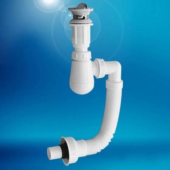 Bộ xi phông và ống xả lavabo Zento ZXP017 có thiết kế đẹp mắt, tiện dụng, dùng để lắp mới hoặc thay thế những phụ kiện đã cũ, hư hỏng trong nhà. Ống xả mềm có thể kéo dài và uốn cong tùy thích,dễ dàng lắp đặt với nhiềucấu tạo đường nước.Đầu ống xả có thiết kế ngăn mùi hôi,côn trùng xông lên từ đường ống tiện lợi.Xi phông có lỗ xả tràn cùng nút xả nước kiểu lật, xoay 360 độ. Bộ sản phẩm được thiết kế với kích thước chuẩn, phù hợp với nhiềuloại lavabo thông thường. Giá gốc 210.000 đồng, ưu đãi 29% trên Shop VnExpress, giảm còn 149.000 đồng.