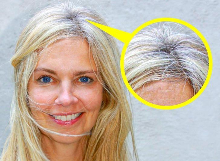 Không chấm bạc ở chân tóc cũng khiến bạn bị đánh giá là thiếu gọn gàng.