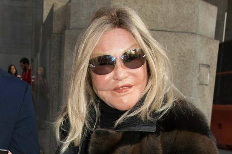 Jocelyn Wildenstein phá sản dù trước đây từng nắm tài sản tỷ đô. Ảnh: New York Post.