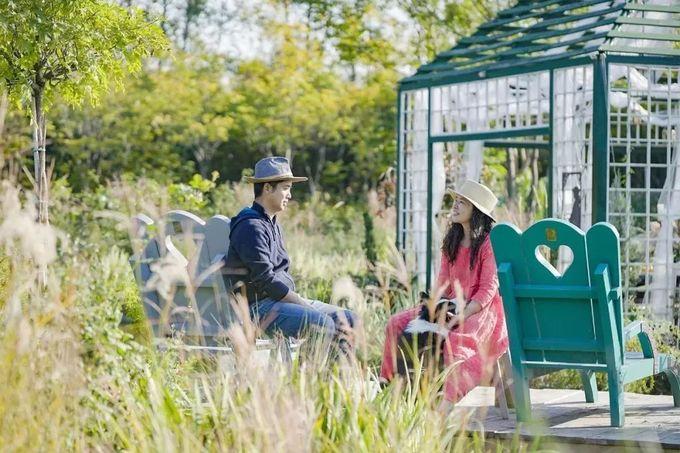 Vợ chồng bỏ việc quản lý cấp cao về làm 'vườn cổ tích'