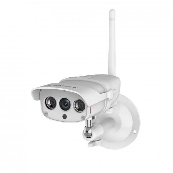 Camera IP Wifi Vstarcam C16S thích hợp lắp đặt ngoài trời, có kết nối wifi, dễ dàng kiểm soát từ xa. Góc quan sát 91,7 độ, bảo vệ chống nước IP67. Camera có khả năng quan sát vào ban đêm tốt, rõ ràng.Vì có kết nối wifi nên sản phẩm có thể gửi tin nhắn báo động đến ứng dụng được cài trên điện thoại thông minh của chủ nhà, giúp quản lý nhà dù bạn đang ở xa, du lịch hay công tác. Camera có giá 275.000 đồng.