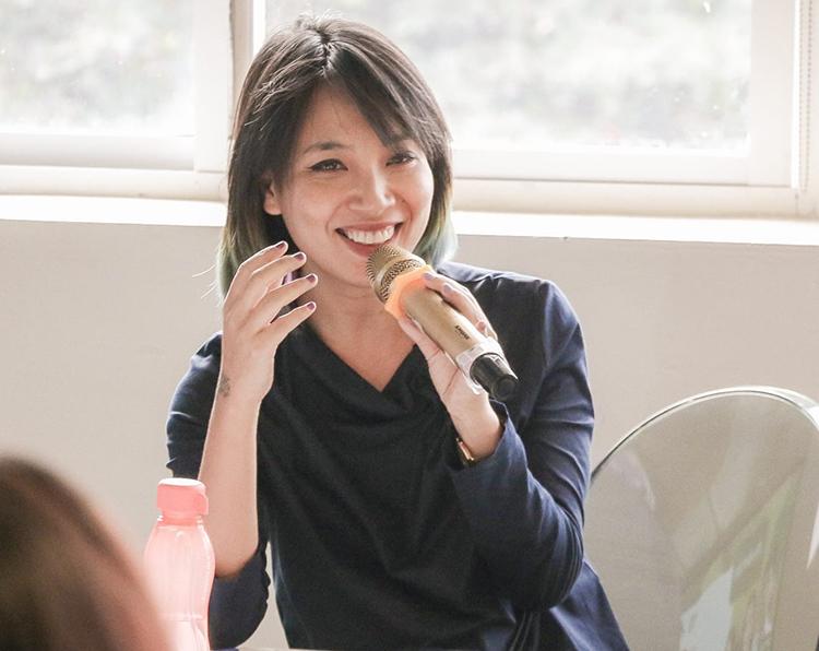 VJ Thùy Minh – người truyền cảm hứng cho nhiều chị em phụ nữ.