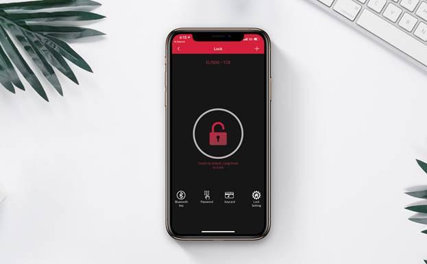 Ứng dụng Häfele Access kết nối với các khóa Bluetooth như EL7900, ER5900, giúp bạn quản lý nhiều khóa điện tử cùng lúc, tạo và gửi mật mã từ xa, kiểm tra lịch sử ra, vào và mở khóa bằng Bluetooth mà không cần đến internet, tránh nguy cơ bị hack.