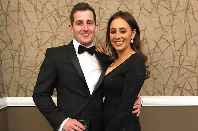 Steffan Wilson và Erin Mason-George chia tay sau đám cưới 2 giờ. Ảnh: Facebook.