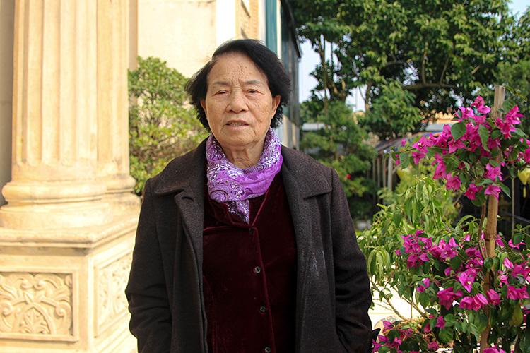 Gần đây, vợchồng doanh nhân Vũ Quang Huy,Đinh Thị Dong đã chuyển từ tòa The Manor ở Hà Nội về lạiquê sống. Ảnh: P.D.