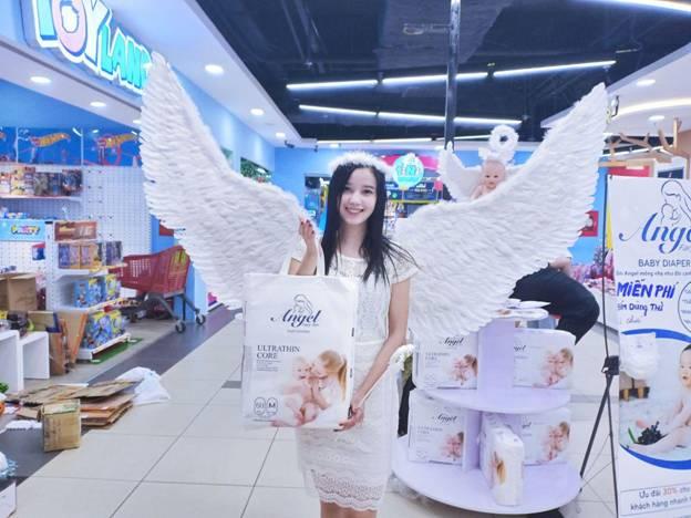 Thương hiệu ra mắt sản phẩm mới Angel Utra Absorbent Core.