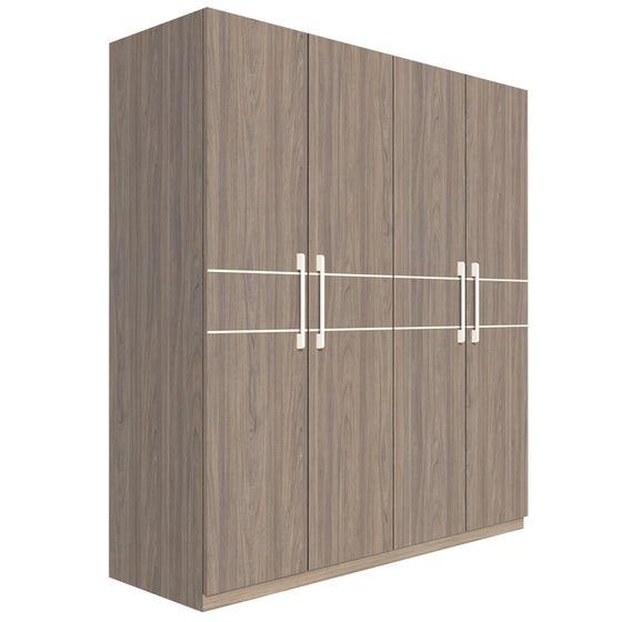 Tủ áo Fine FT011 làm từ chất liệu gỗ công nghiệp MFC ngoại nhập cao cấp đã được xử lý chống mối mọt.  Nội thất các ngăn tủ được chia ra thông thoáng hợp lý. Tủ chia thành 3 ngăn đứng với 4 cánh cửa mở, đóng nhẹ nhàng. Ngoài chức năng để quần áo và các vật dụng khác như chăn drap, gối, khăn, màn... cho gọn gàng, tủ áo góp phần tô điểm cho không gianphòng ngủ thêm hài hòa và thẩm mỹ hơn. Sản phẩm được bảo hành một năm nếu xảy ra lỗi kỹ thuật. Tủ áo có giá 6,8 triệu đồng, giảm 50% so với giá gốc trên Shop VnExpress.