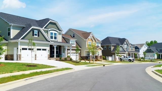 Các khu nhà ở tư nhân của Mỹ cũng không có hiện tượng phơi đồ ngoài trời.Ảnh:Aboluowang.