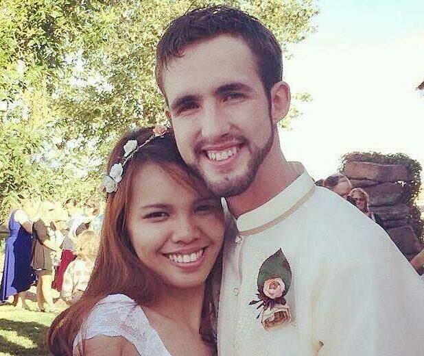 Tyler và Joana cưới cuối năm 2014. Ảnh: Brightside.