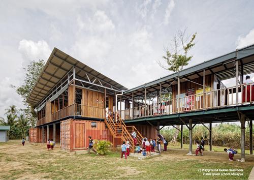 Dự án trường học cho trẻ em của những người lao động nhập cư tại Sabah, Malaysia.